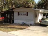 Real Nice 2 bedroom 1 bath single wide mobile home,