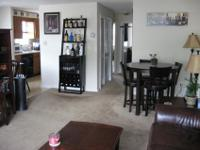 2 bedrooms- 1 bath- WW Carpets- Eat in Kitchen- Central