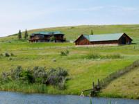 Western Elegance with the Big Horn Mountains jutting