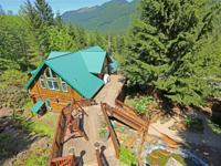 Beautiful Log home with Tilton River water frontage, 88