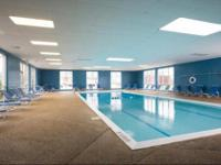 50-foot indoor heated pool, Off-street parking,