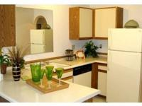 One and two bedroom apartment homes, Private patios and