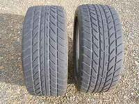 BF Goodrich G-Force T/A tires with over 50 % tread