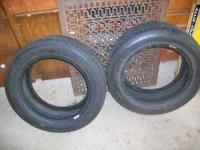 2 used BF Goodrich tires. P205/55 R16. Decent tires
