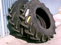 We sold our Belarus Tractor-- have 2 new 11.2R20 BFG