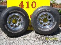 2 BFGoodrich Champion Mud Terrain T/A 37x12.50R18LT