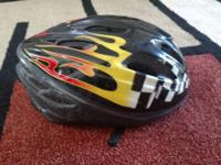Two youth bicycle helmets for sale in good shape.