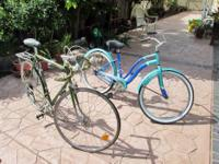 I have a 10 speed men's bike and a women's bike on sale