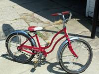 Is a girls Schwinn Bantam all original good condition