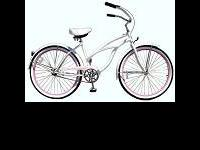 Selling: Woman's Purple Hawaiian Electra Beach Cruiser.