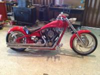 2002 Jesse James Chopper Vance & Hines Pipes Delkron