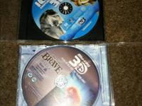 2 blue ray 3d moves Ice age continental drift and Brave