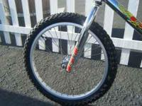 Selling 2 BMX bikes both have chromoly frames (light