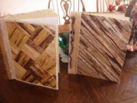 2 BN Wood Photo Albums, $15 each. Made in the hills of