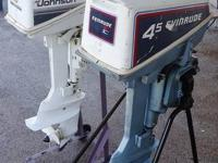 i have 2 boat motors/engines for sale...the first is a