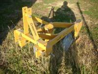 Selling a 2 bottom plow for 3 point. Bought new at