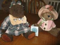 Will sell for $20.00 each these two Boyds Bears   Mrs.
