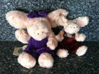 I have 2 different Boyds Bears Primrose Pigs for sale.
