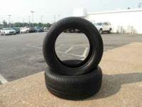 2 Used Bridgestone Dueler H/L 275/55/R20 tires in good