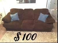 I have 2 full length brown microfiber couches for sale.