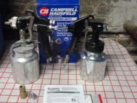 2 Campbell Hausfeld 4.3 CFM General Purpose Spray Guns