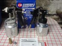 2 Campbell Hausfeld 4.3 CFM General Purpose Spray Guns