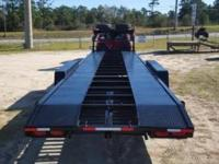 This Hooper trailer has 36 ft of usable space, new