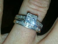 Kay jewelers SZ 6 Sautered together 2 carats total