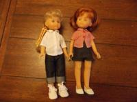 2 Carolee collector dolls 14 in. tall. showed just in a