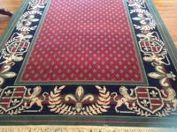 2 identical carpets with beautiful, classic, Napeleon