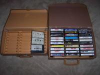BROWNSBURG PICK UP: Two cassette cases - (1) can hold