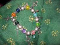 I'm selling two charm bracelets. They are both really