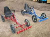 I have 2 childs Qudra Spree 4 wheel quad bikes. Made in