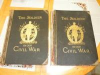 2 Very large and heavy Civil War books from around