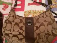 2 coach purses both like new condition very good shape