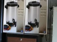 up for sale  2 tea/coffee brewer electric with cords