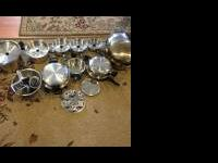 Two Cordon Bleu pots and pans sets. One 32pc set and