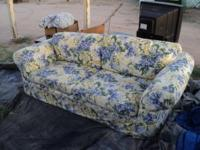 Description * 2 COUCHES - SOFAS with Covers - Very