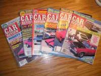 One crate is full of Muscle Car review from the early