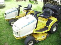 for sale 2 shaft drive mowers with hydro trans , ,a