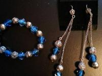 Selling these 2 custom designed jewelry sets. The blue