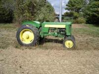 Farm Tractor 430 John Deere PTO, 3 point hitch, power