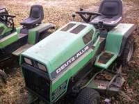 2 Deutz Allis 1916 Ultimas 1 runs great and comes with