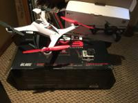 Blade 350 qx3 and Hubsan x4 drone. Included is 2