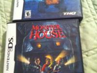 I have 2 ds games, Monster House and Wall E $8 for