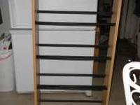 2 DVD RACKS IN GOOD CONDITION. FULLY ASSEMBLED. HOLD