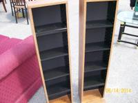 2 DVD STANDS--$15.00 FOR BOTH