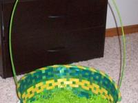 1 Extra Large Easter Basket and 1 regular size Easter