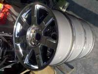 I have 2 factory Cadillac Escalade oem chrome 22""