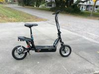 2 eZip 1000 Electric Scooters. These devices are one